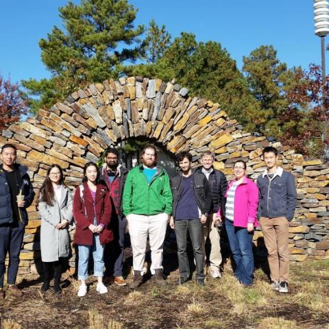 Zauscher Lab Thanksgiving gathering, Fall 2018