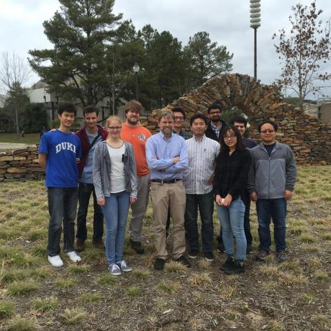 Zauscher Group after Lunch Spring 2016
