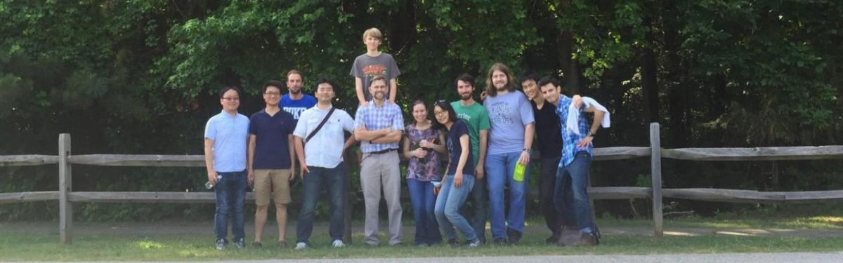 Zauscher Lab gathering in 2015
