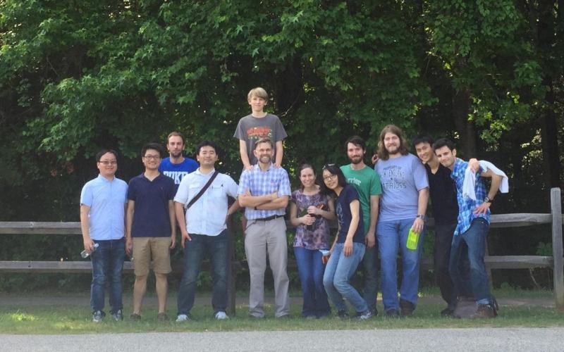 Zauscher Group Hiking at Eno Summer 2015