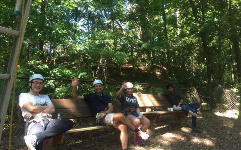 Zauscher Group experience Rope Course Fall 2017